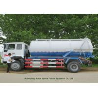 Buy cheap 12000L Sewage Sucking Truck With Vacuum Pump , Sewer Cleaning Truck product