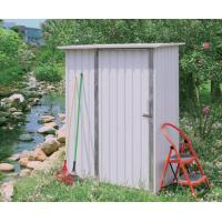 Buy cheap Easy Assemble Mini Metal Storage Shed , 4x4 Feet Flat Roof DIY metal shed For Tools product