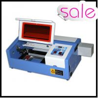 Buy cheap 50W Portable Mini Laser Engraving Machine For Rubber / Wood / Acrylic / Glass product
