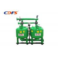 Buy cheap Manual Auto Backwash Sand Filter , Green Pressure Sand FilterWater Treatment product