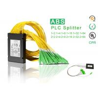 Buy cheap 1x16 ABS PLC splitter with SC APC connector Optical Fiber Splitter ABS box product