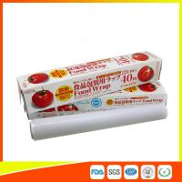 Buy cheap Ovenproof PE Cling Film For Food Wrap , Stretch Wrapping Plastic Roll product