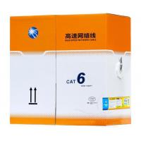 Buy cheap Cat 6 Cable Pass Test Pure Copper 24awg 2pr 4pr 305m 1000ft 0.56 Utp Cat6 Indoor Cable product
