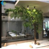 Buy cheap One Side Type Artificial Ficus Tree Customized Design 5-10 Years Life Time product