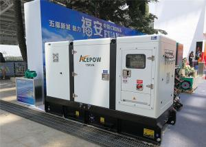 China Four Stroke 30KVA 24KW Canopy Diesel Generator on sale