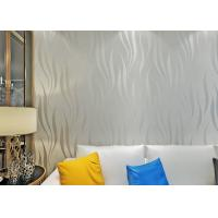 Buy cheap Nonwoven Foam Modern Self Adhesive Wallpaper , 3D Peel And Stick Wall Coverings product