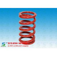 Red Powder Coated Machinery Springs / 9.5MM Wire Isolate Vibration Springs