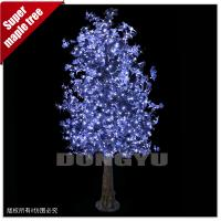 Buy cheap 3M High simulation led artificial maple tree for decoration product
