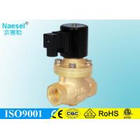 Buy cheap Normal Open Steam Solenoid Valve Brass Body Pilot Piston Structure Up To 2 Inch product