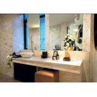 Buy cheap Elegant Beige Marble Stone Countertops 124 MPa Compressive Strength product
