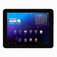 Buy cheap 9-inch Tablet PC, RK3066 ARM Cortex A9 1.6GHz, Dual Core CPU with IPS HD TFT product