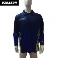 Buy cheap Custom Your Own Logo Full Sublimation 100% Polyester Polo Shirt from wholesalers