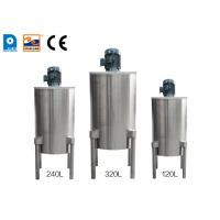 Buy cheap 4 Legged Double Walled Ice Cream Cone Production Line High Speed Batter Mixer product