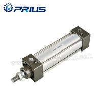Buy cheap SC / SU Standard Air Cylinders , Adjustable Buffer Double Acting Air Cylinder product