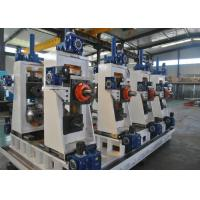 Buy cheap Manual Or Automatic Welded Pipe Production Line / Industrial Tube Mills from wholesalers