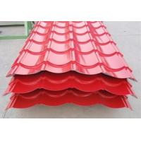 Buy cheap Waterproof Color Coated Roofing Sheets , Corrugated Metal Roofing Sheets product