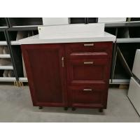 Buy cheap Tight Construction Solid Wood Shoe Cabinet With Doors High Bending Strength Feature product