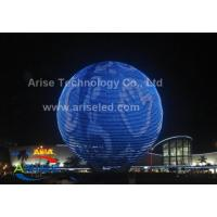 Buy cheap Energy saving IP43 Video Led Screen Ball P6 with Full Color LED spher LED ball Led Screen product