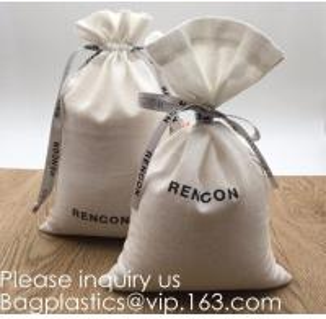 Buy cheap Double Canvas Drawstring Bag Cotton Pouch Gift Sachet Bags Muslin Bag Reusable Tea Bag,Organic Cotton Reusable Produce B product