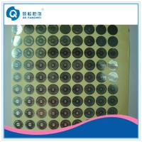 Buy cheap Personalized Hologram Security Stickers , Medicine Anti Tamper Label Sheets product
