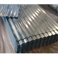 China Corrugated Galvanized Steel Roof With Total Thickness of 0.18 mm on sale