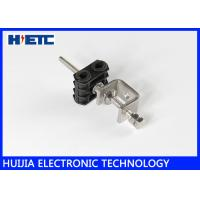 Buy cheap Two Hole Through Type Fiber Optic Coaxial Cable Clamps For 1-1/4 Inch Feeder Cable product