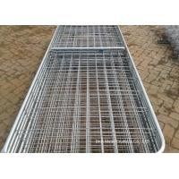 Buy cheap Metal Cattle Fence Panels , Galvanized Field Fence For Livestock product