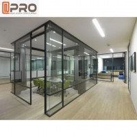 Buy cheap Modern Aluminum Glass Frame Removable Wall Cool Office Partitions product