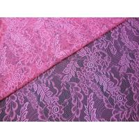 China Light hollow gauze 100%nylon leaf lace fabric textile in Guangzhou market (CY-DN0007) on sale