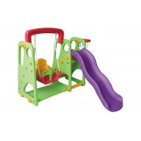 Buy cheap Customized Color Childrens Swings And Slides Non Toxic For 3 - 12 Years Old product