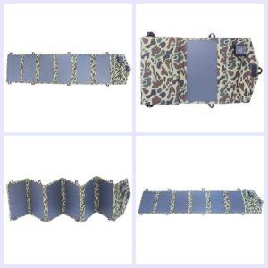 China Customized Sunpower Portable Folding Solar Panel Kits 24v 36 Cells Antireflective Glass on sale