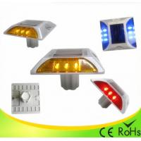 Buy cheap IP68 Aluminum Shell Solar Led Road Stud With 1000M Visual Distance , Solar Cats Eyes product