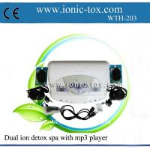 Buy cheap Machine ionique detoxifier de bain de pied de detox de corps double avec le lecteur mp3 product