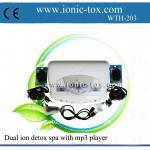 Buy cheap Body detoxifier dual ionic detox foot bath machine with mp3 player product