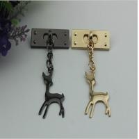 Buy cheap Customized design zinc alloy metal light gold super lovely giraffe hanging decorative charms product