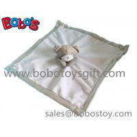 China EN71 Approved Stuffed Brown Bear Style Baby Blanket Plush Baby Comforter on sale