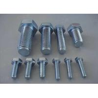 Buy cheap Carbon Steel Metric Hex Head Bolts Screws 4.8 8.8 Grade DIN933 DIN93116mm-70mm product