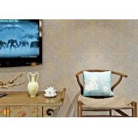 Buy cheap PVC Wall Coverings Victorian Damask Wallpaper with Tear - resistant , ISO certification product