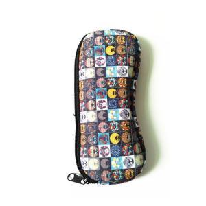 Buy cheap Ultra Light Portable Travel Soft Neoprene eyeglasses Pouch Zipper.SBR Material. Size is 19cm*8.7cm. product