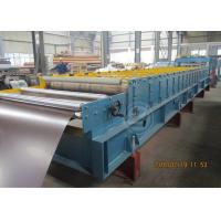 Buy cheap Glazed Metal Tile Cold Roll Forming Machine with Hydraulic Punching Device product