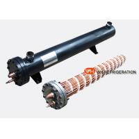 Buy cheap Dry Type Shell And Coil Evaporator High Heat Exchanging Efficiency ISO Certification product