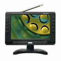 Buy cheap 9-inch LCD DVB-T Portable TV with HDMI®, 75 Ohms Output Resistance product