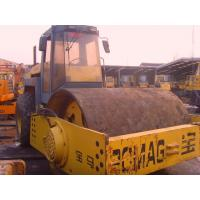 China Bomag Bw217d Smooth Double Drum Vibratory Roller New Painting German Made wholesale
