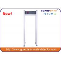 Buy cheap 255 Steps Full Body Security Scanner / Walk Through Metal Detector With High Sensitivity product
