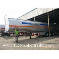 60000L  three axle transport chemical liquid  fuel tanker trailer petrol tanker
