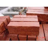 Buy cheap Red Natural Paving Stones Tile For Stair Steps / Countertop Granite Material product