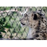 Buy cheap Stainless Steel Animal Enclosure Mesh Corrosion Resistant For Lion / Tiger Cage product