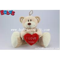 Buy cheap China Manufactured Big Feet Teddy Bear Toy With Red Heart product