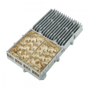 Buy cheap Tolerance ± 0.01mm Aluminum Die Casting Telecome Enclosure Size 45*20*8CM product