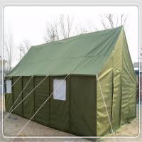 Buy cheap Waterproof Polyster Military Army Tent Heavy Duty 2 - 40 Person With Steel Frame product